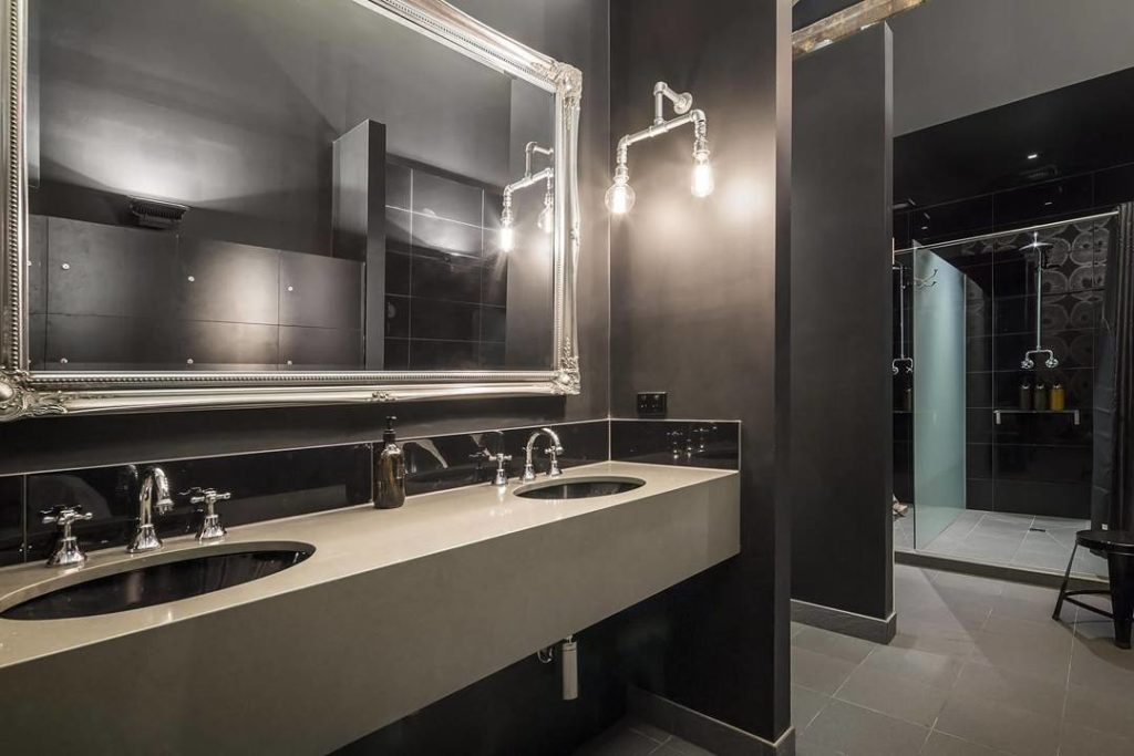 Contemporary bathrooms cos interiors pty ltd for Cool modern bathrooms