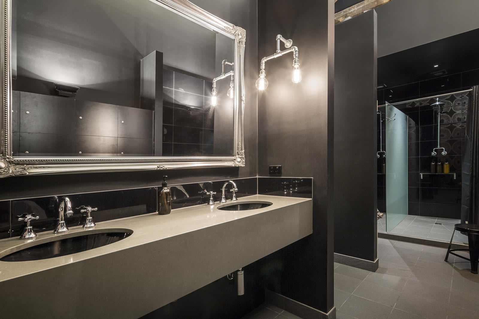 Our work contemporary bathrooms archives cos interiors for Bathroom design restaurant