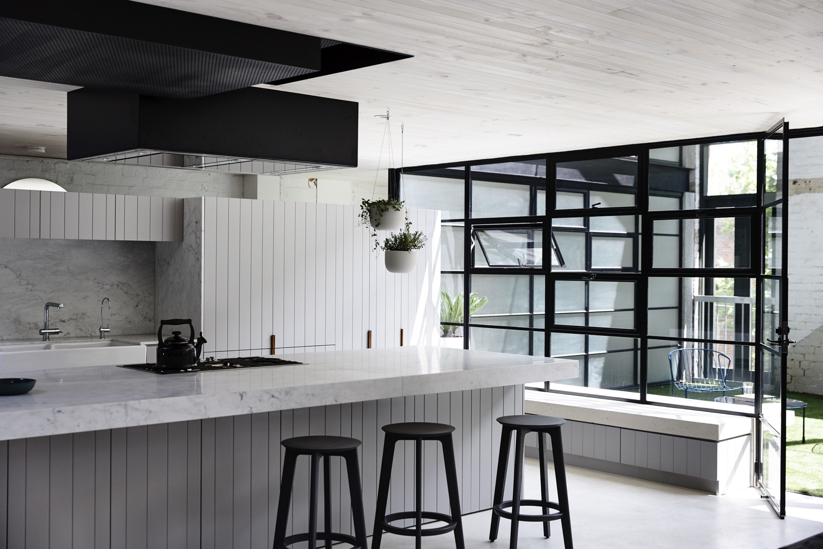 industrial style house kitchen ideas cos interiors pty ltd