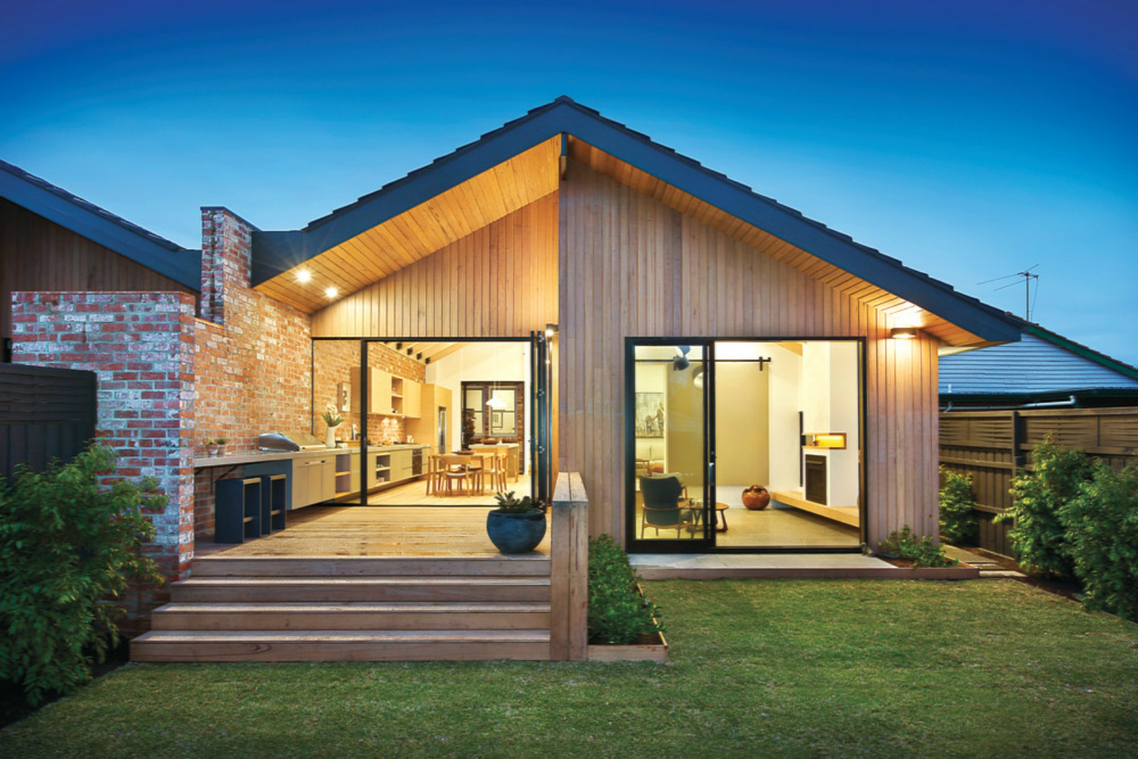 Rustic Modern Residence - Malvern East, Melbourne