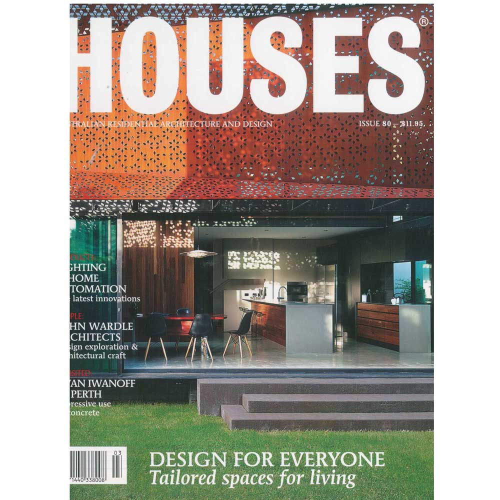 Houses Is Australiau0027s Leading Residential Architecture Magazine For  Designers And Their Clients And Presents Residential Projects By Leading  Architects And ...