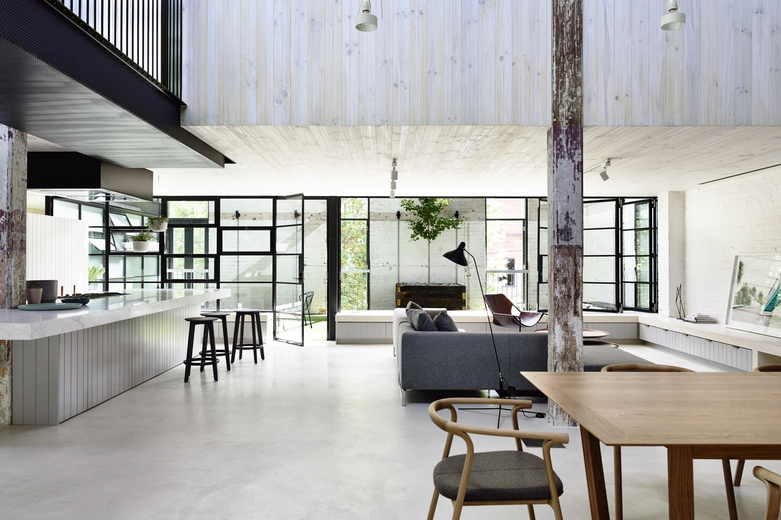 Modern Industrial Residence - Fitzroy, Melbourne
